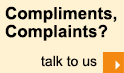 Saffron Compliments, Complaints? - talk to us